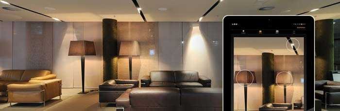 Casambi Lichtsteuerung