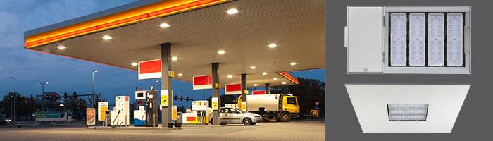 WSH Tankstellenbeleuchtung