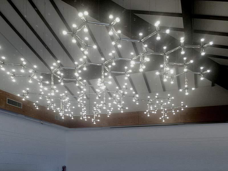 Leuchten Umbau Deckeninstallation