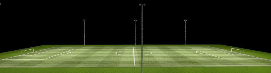 WSH Lichtkonzept Sportplazbeleuchtung Fußball