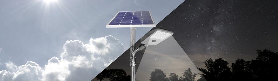 Solar Straßenleuchte und Platzleuchte SoLED