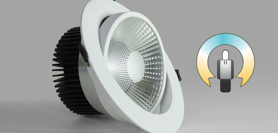 WSH CCT Einbaustrahler flexible Farbtemperatur