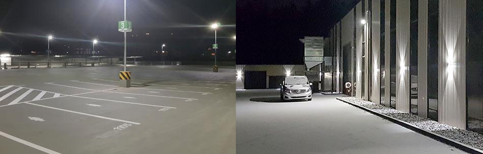 Straßenbeleuchtung Platzbeleuchtung Wegebeleuchtung