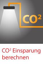 CO2 Einsparung berechnen