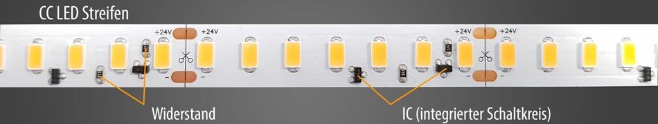 CC-LED-Streifen