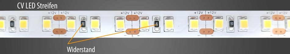 CV-LED-Streifen