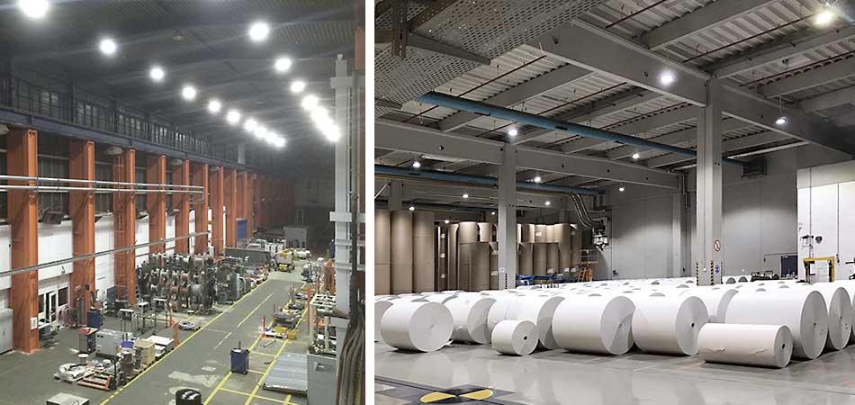 LED Hallenbeleuchtung umgesetzt von Wir sind heller