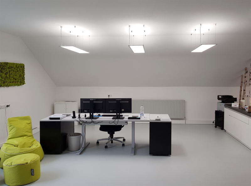 Bürobeleuchtung LED Panel
