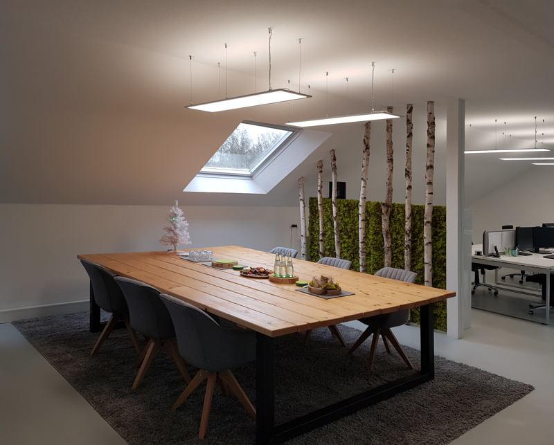 Beleuchtung Besprechungsbereich LED Panel
