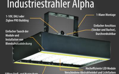 LED Hallenstrahler Alpha von Wir sind heller