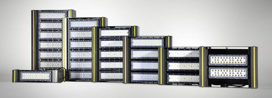 WSH LED Hallenstrahler Serie Alpha Produktfamilie