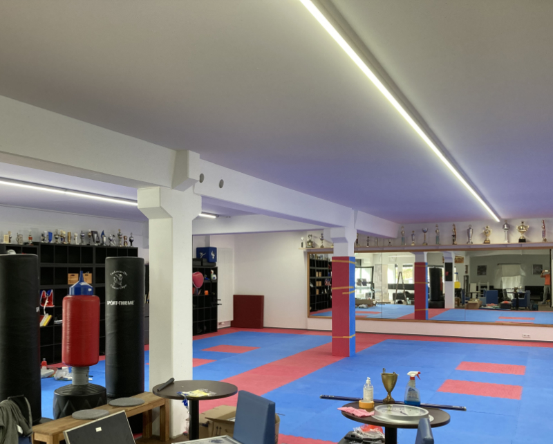 Beleuchtung Sportstudio