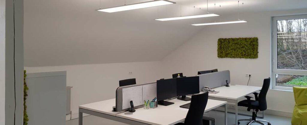Gewerbebeleuchtung Büro