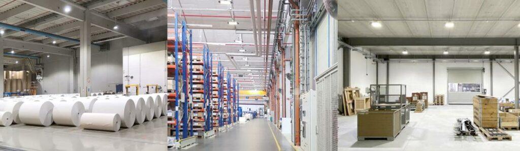 WSH Geschäftsbereich Industriebeleuchtung