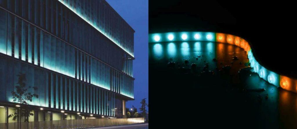 DMX Fassadenbeleuchtung Vision2Sight