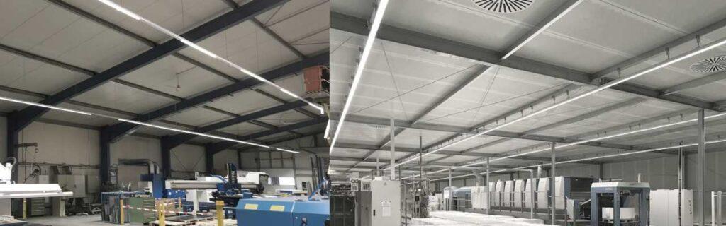 LED Lichtbandsysteme zur Hallenbleuchtung