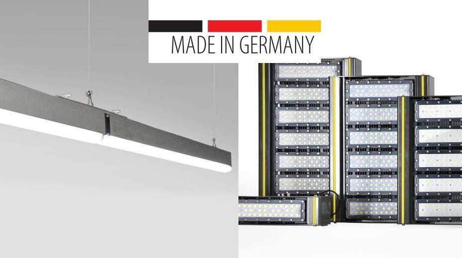 Wir sind heller - Industriebeleuchtung aus Deutschland