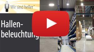 Video LED Hallenbeleuchtung