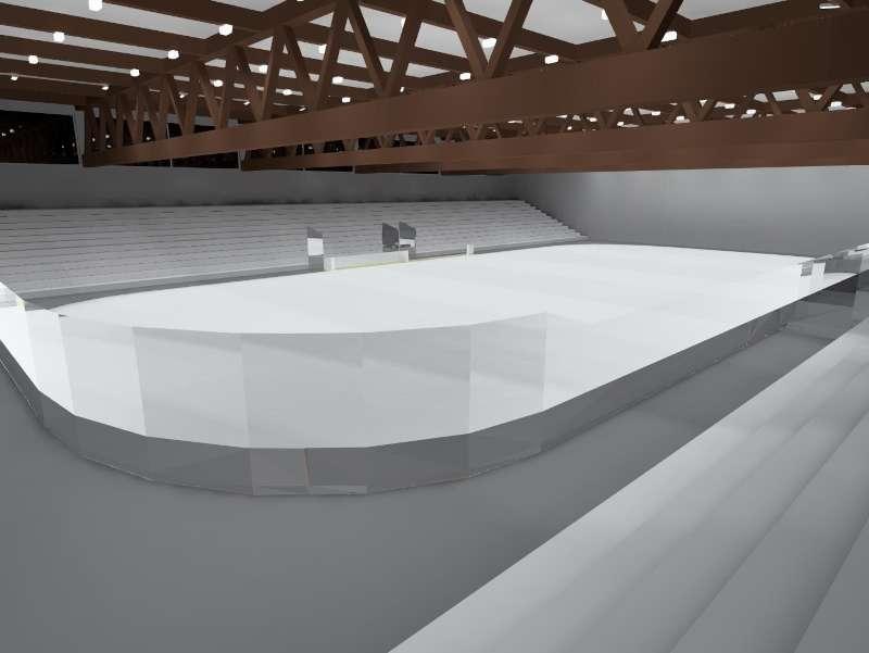 Lichtplanung Eissporthalle