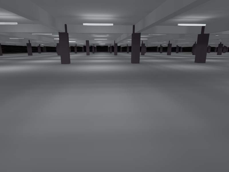 Lichtplanung Parkhaus